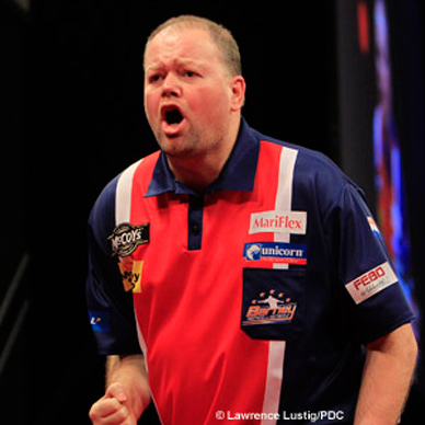 Barney wereldkampioen darts