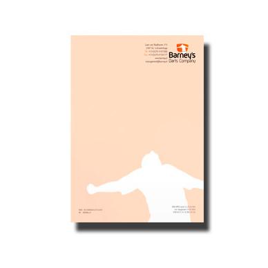 briefpapier in topkwaliteit drukken: 100gr lasergeschikt offset papier.