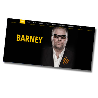 barney.nl website