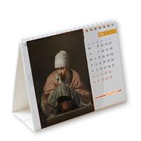 kalender tafelmodel met oude meesters